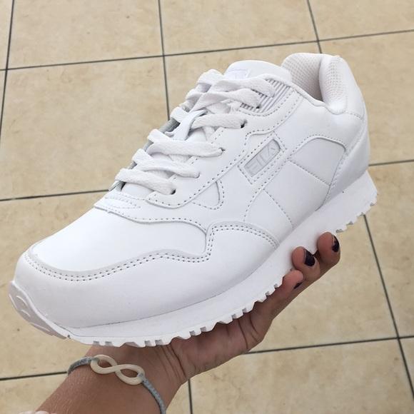 buy \u003e plain white filas, Up to 71% OFF